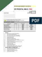 Material Lista Verificacion Mantenimiento Preventivo Cargador Frontal 966g Caterpillar