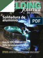 La Revista de La Sociedad Americana de Soldadura WELDING JOURNAL AWS en ESPAÑOL