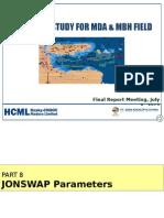 Jonswap Parameters