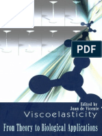 Viscoelasticity Theory for Biological Applications