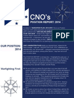 CNO 2014 Position Report