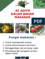 Zat Aditif