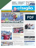 Edición Impresa Elsiglo Lunes 15-06-2015