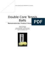 double core tennis balls