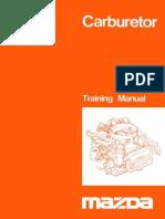 Mazda Carburetor Training Manual