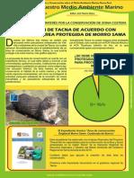 Boletin Nuestro Medio Ambiente Marino Mayo 2015