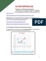 2.- Estatica de Las Particulas