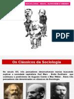 Filo Sociologia Marx Classicos