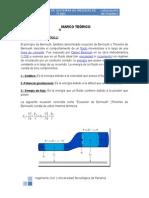 Marco Teórico - Teorema de Bernoulli
