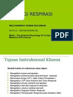 Faal Kuliah Respirasi BLOK 9 UMI 06