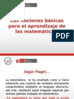 Nociones Básicas -Aprendizaje Matematica