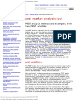 Free PEST Market Analysis Template and Method, Free Pest Market Analysis Exa