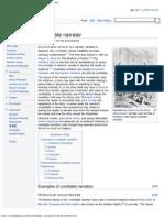 Unreliable Narrator - Wikipedia, The Free Encyclopedia