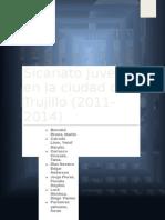 Sicariato Juvenil en La Ciudad de Trujillo