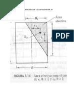 Cartas de estudio de Excentricidad en 2d para diseño de cimentaciones tipo zapata