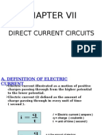 (2) CHAPTER VII Direct Current Circuits NEW