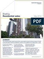 Savills' private residential sales briefing - May 2015