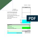 Contoh Perhitungan Analisis Finansial