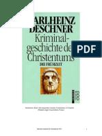 Deschner, Karlheinz - Historia Criminal Del Cristianismo - Tomo I
