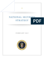 US National Security Strategy 2015