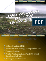 Pemberontakan Pki Madiun, Di-tii g30spki