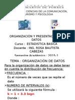 2015 1 Estadistica Basica Organizacion de Datos