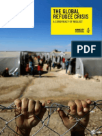 Amnesty International - The Global Refugee Crisis, A Conspiracy of Neglect