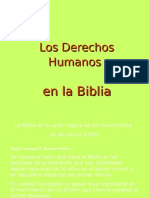Los Derechos Humanos en La Biblia