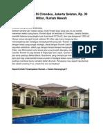 Dijual Rumah Di Cirendeu, Jakarta Selatan, Rp. 30 Miliar, 12430.pdf