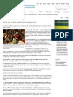 FAO -Noticias_Evitar Que La Dieta Mediterránea Desaparezca