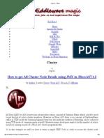 Cluster « JBoss