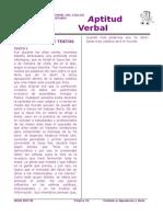 Razonamiento Verbal 8 CS