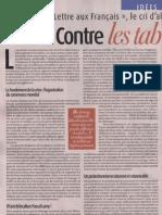 Lettre aux Français - Contre les tabous indiscutés | par Maurice Allais