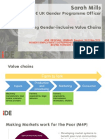 Building Gender-Inclusive Value Chains by Sarah Mills
