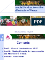 Making Financial Services Accessible and Affordable to Women by Phan Cử Nhân