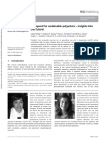 Vilela Et Al. - 2013 - The Quest for Sustainable Polyesters
