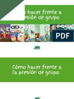 Comic Hacer Frente a La Presion de Grupo