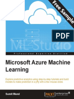 Microsoft Azure Machine Learning - Sample Chapter