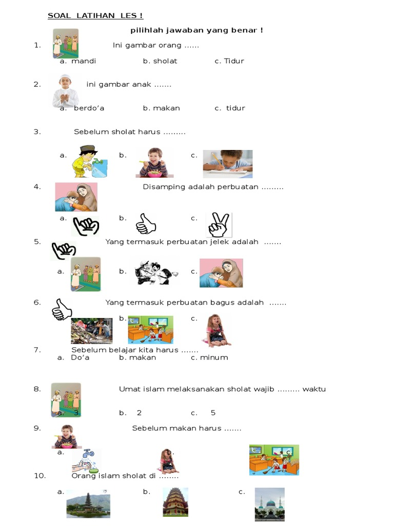 Contoh Soal Anak Abk Tentag Pkn Jawabanku Id