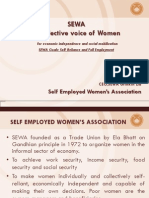 Self Employed Women's Association (SEWA) - A collective voice of Women by Shruti Gonsalves