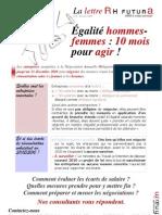 Lettre d'information RHF Février 2010