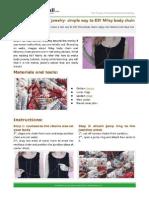 PandaHall - DIY Body Chain (Miley Cirus)