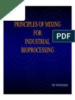 Principios de Mezcla en Bioprocesos Industriales