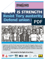 Unity is Strength - Flyer June 20