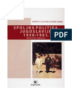 Spoljna Politika Jugoslavije 1950-1961