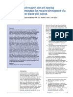 Saravanakumar Et Al 2014 - Marine Placer Gold Sample Support Size and Spacing