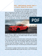 Cumberland Ford 2015 Ford Mustang