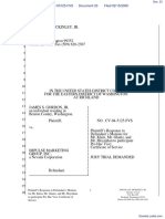 Gordon v. Impulse Marketing Group Inc - Document No. 23