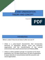 Urban and Urbanization 071214