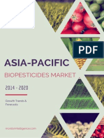 Asia Pacific Biopesticidses Market Growth Trends and Forecasts